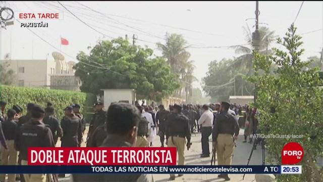 Doble Ataque Terrorista 27 Muertos Pakistán