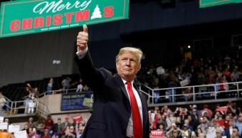 Trump amaga con paralizar gobierno si no financian muro