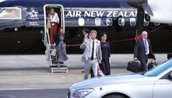 Duques de Sussex concluyen en Nueva Zelanda su larga gira por Oceanía