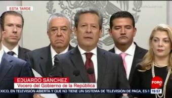 Eduardo Sánchez Emite Último Mensaje Medios