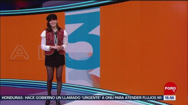 El Clima A las tres Daniela Álvarez El Clima 'A las tres' con Daniela Álvarez [16-11-2018]