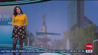 El Clima 'A las Tres' con Daniela Álvarez del 13 de noviembre de 2018