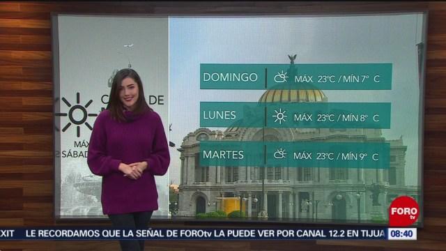 El Clima de Sábados de Foro con Daniela Álvarez [17-11-18] El Clima, Sábados de Foro, Daniela Álvarez, Frente frio, bajas temperaturas,