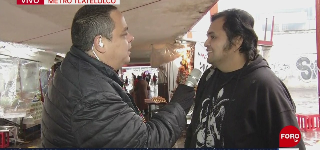 'El Reporñero' recorre las calles de Tlatelolco, CDMX