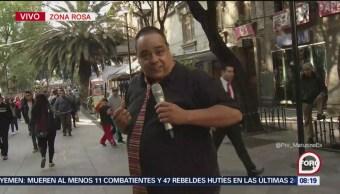 'El Reporñero' visita la Zona Rosa, en la Ciudad de México