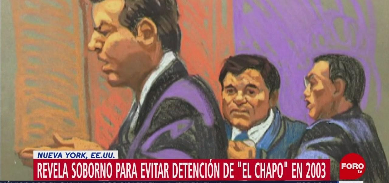 El Rey Zambada soborno para evitar detención El Chapo tercer día de interrogatories Jesús 'El Rey' Zambada Joaquín 'El Chapo' Guzmán 250 mil dólares a un teniente coronel en el año 2003