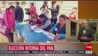Elección interna del Partido Acción Nacional (PAN)