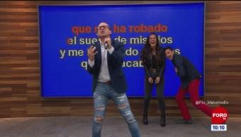 #ElKaraokedeMatutinoExpress: Ulises de la Torre interpreta 'Detenedla ya'