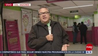 Enrique Muñoz visita oficina de correos en la CDMX