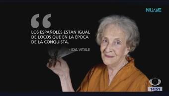Escritora uruguaya Ida Vitale gana el Premio Cervantes 2018