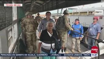 Estados Unidos Refuerza La Seguridad Frontera Con México Fuerzas Armadas de Estados Unidos caravanas centroamericanas