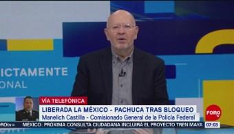 Policía Federal tardó 20 horas en intervenir en el bloqueo de la México-Pachuca
