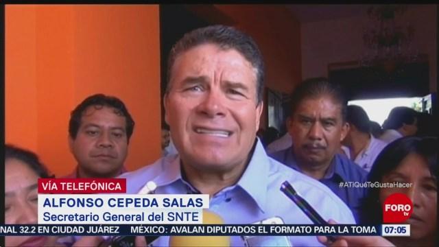 SNTE desaparece la presidencia del sindicato, dice Alfonso Cepeda Salas