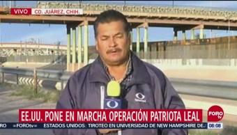 Eu Operación Patriota Leal Gobierno De Estados Unidos Estados Unidos Operación Patriota Leal