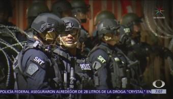 EU realiza simulacro para contener flujo de migrantes en frontera de Tijuana