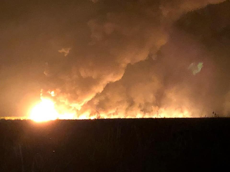 Explosión e incendio en toma clandestina en Cárdenas, Tabasco