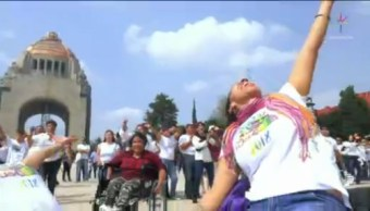 Flashmob Incluyente Monumento A La Revolución