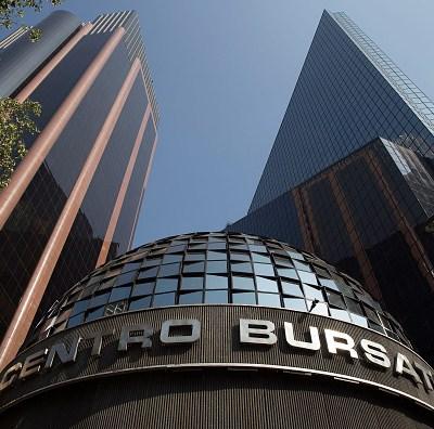 Bolsa Mexicana de Valores cae 2.35 por ciento