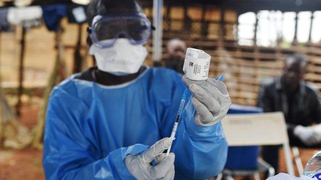 Foto: La Organización Mundial de la Salud (OMS) realiza campañas de vacunación contra el virus de ébola en el Congo