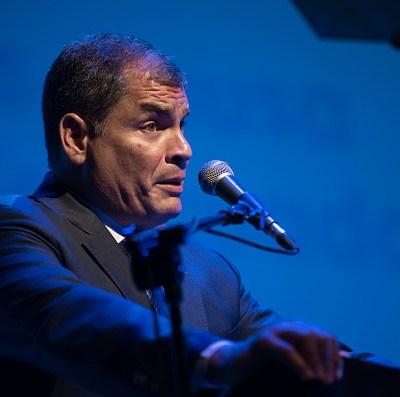 Llaman a juicio al expresidente Rafael Correa por secuestro de opositor