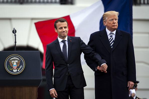 Trump y Macron se reunirán el sábado en París