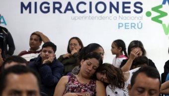Perú recibe unos 550 mil migrantes venezolanos