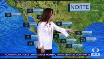 Frente frío 11 afecta el norte de México