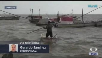 Frente frío número diez afecta a Campeche
