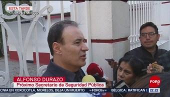 Gabinete De Seguridad De Amlo Pronuncia Por Crisis De Migrantes Derechos Humanos Caravana Migrante Tijuana, Baja California