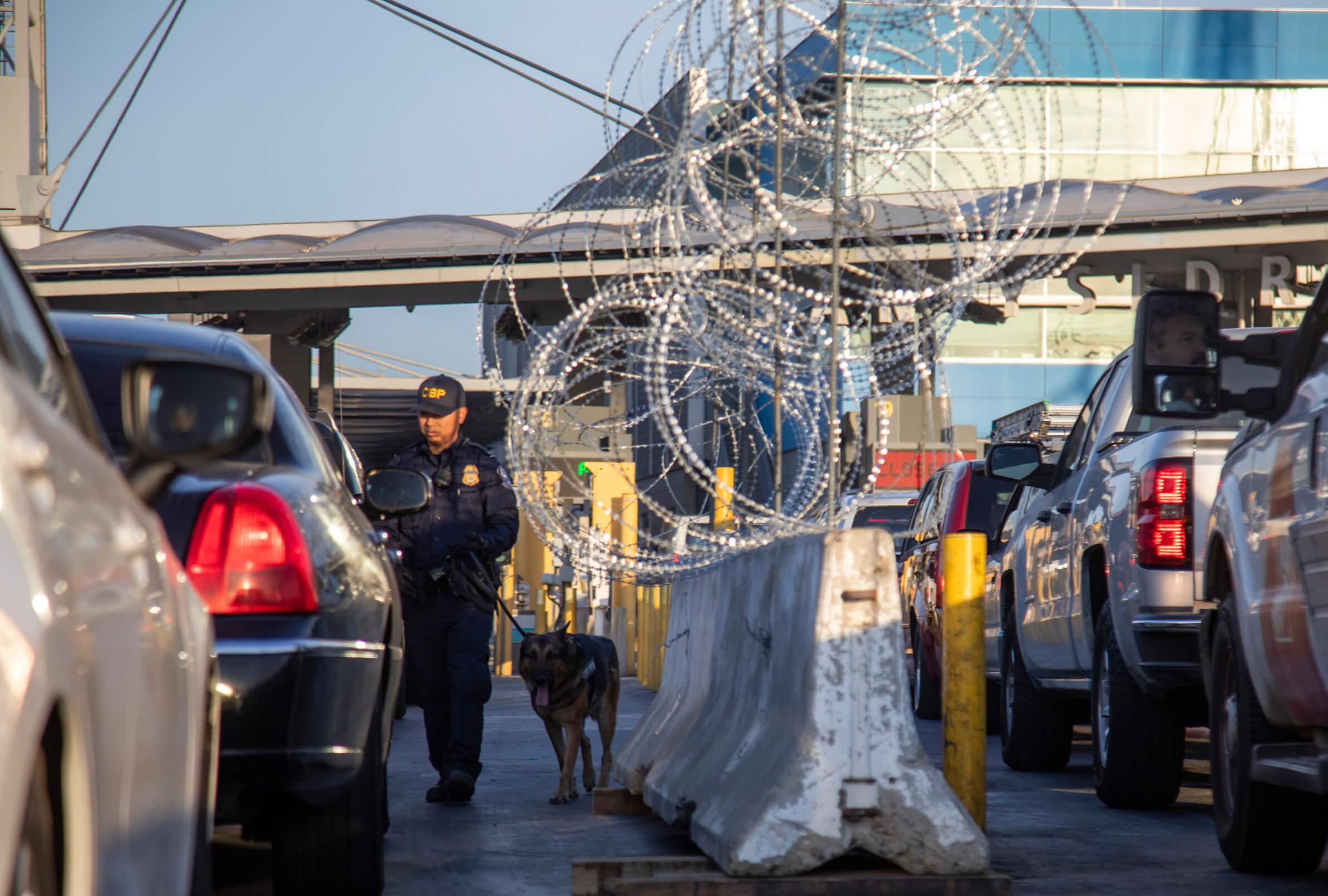 Caravana Migrante cierre garita San Ysidro provoca caos vial