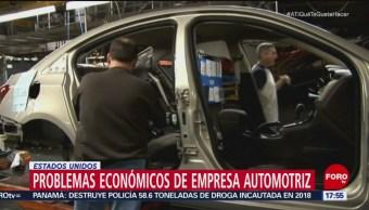 General Motors cerrará plantas de producción en EU