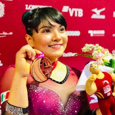 Alexa Moreno, única gimnasta mexicana que logró una presea durante mundial