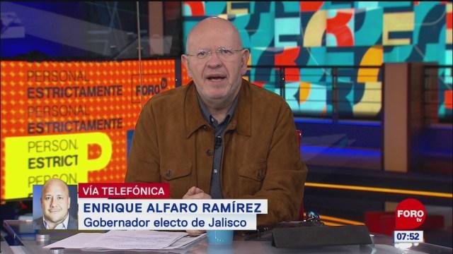 Gobernador electo de Jalisco pide diálogo sobre esquema de seguridad de AMLO