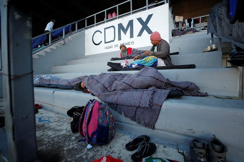 Gobierno federal no apoya migrantes CDMX: Armando Quintero