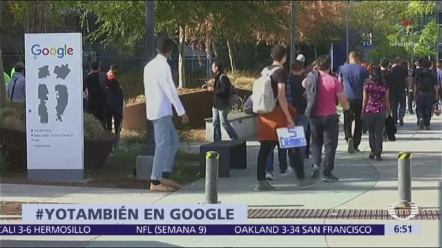 Google escondió casos de acoso sexual entre empleados