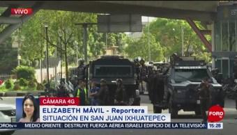 Granaderos de la CDMX podrían levantar bloqueo en la México-Pachuca