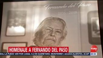 Homenaje Fernando Del Paso En Bellas Artes
