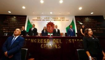 Presentó Manuel Velasco su sexto informe de gobierno