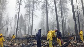Autoridades dan por controlado el incendio de California