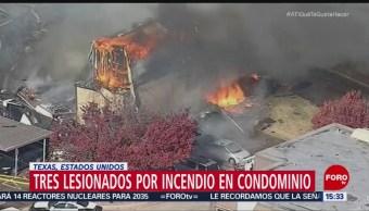 En Dallas, Texas, el incendio de un edificio deja tres bomberos muertos; el fuego cundió por el inmueble en poco tiempo