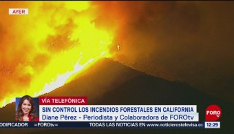 Incendios forestales convierten a California en un infierno
