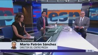 Informe CNDH sobre caso Ayotzinapa refrenda necesidad de profundizar investigación, dice Mario Patrón
