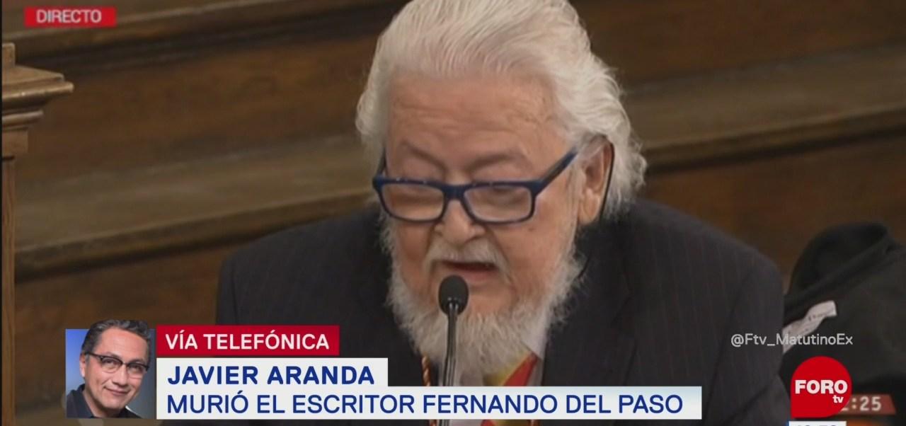 Javier Aranda: Fernando del Paso ensanchó el uso del idioma español