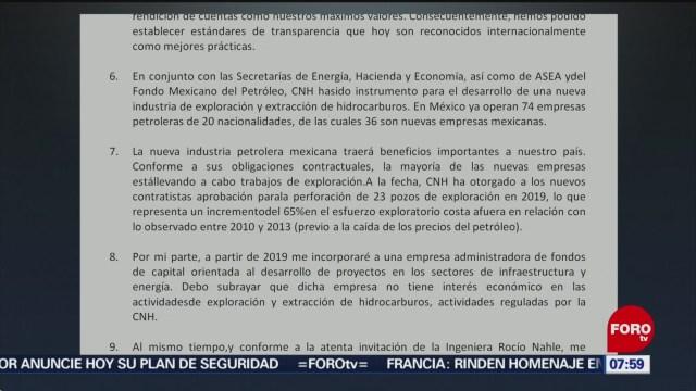Juan Carlos Zepeda presenta su renuncia como presidente de la CNH