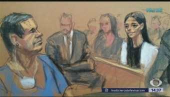 """Juez de Nueva York niega a """"El Chapo"""" petición de abrazar mujer"""