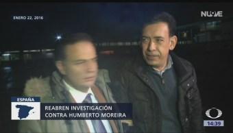 Reabren investigación contra Humberto Moreira