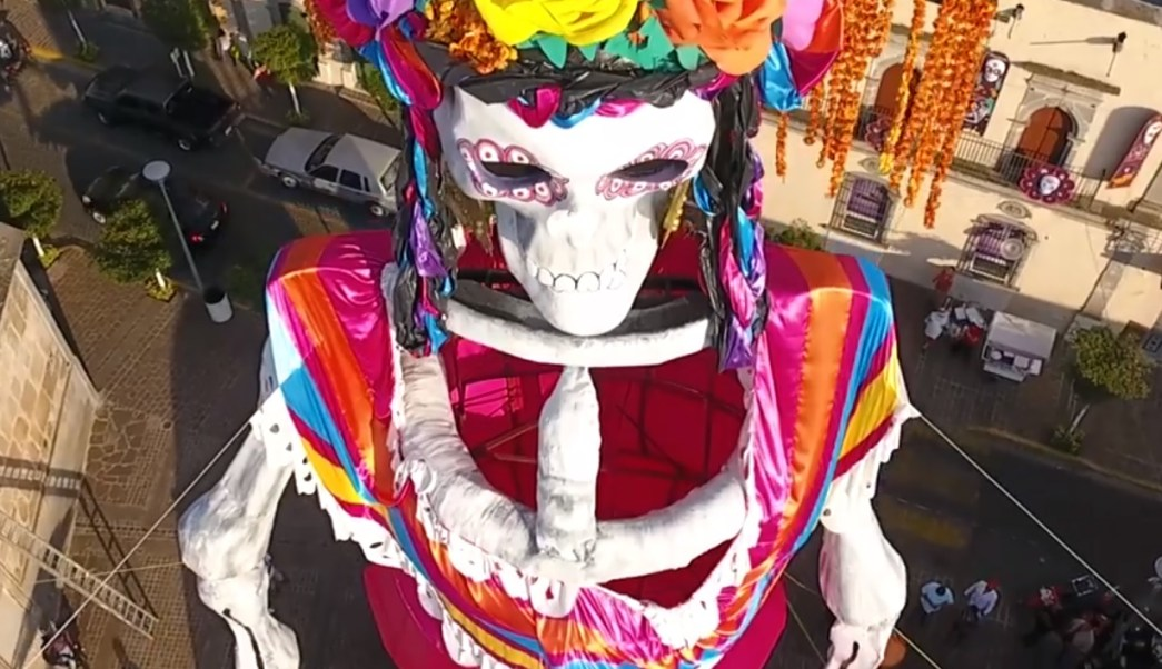 Día De Muertos La Catrina Más Grande Del Mundo Está En Jalisco