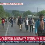 La Segunda Caravana Migrantes recorre Chiapas