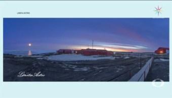 Impactantes Imágenes Meteoróloga En La Antártida
