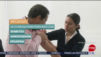 Recomiendan vacunarse contra la influenza
